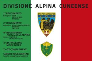 Bandiera Memoriale Divisione Alpina Cuneense
